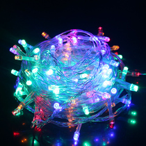 LED lantern festive New Year Christmas decoration flash light festival string string lights gypsophila neon waterproof Lantern