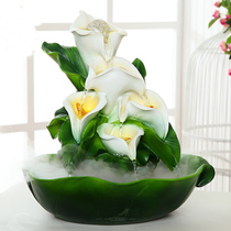 Water humidifier feng shui lucky bonsai home indoor beauty salon opening gift house decoration ornaments
