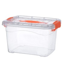 Home Box rectangular storage box bathroom plastic portable wash dust portable living room students large capacity