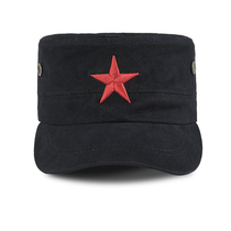 Shield lang outdoor duck tongue Red Army cap Army fan hat male commando cap quick-drying sun visor