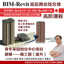 USD 11 67] BIM Revit small villa project civil construction