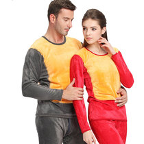 Antarctic thickening couple thermal underwear gold double warm men and women qiuyi qiuku suit special new