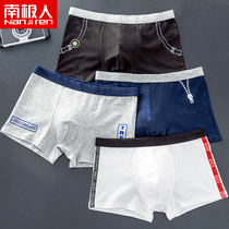 Antarctic mens underwear male youth cotton square pants students personality trend boys Korean boxer briefs