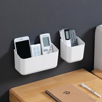 Commande à distance rack-free nail creative wall paste type storage box hanging wall air conditioning Shake controller salon