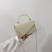 On the new texture of the bag female 2019 new Korean fashion portable diagonal package chic chain wild shoulder bag
