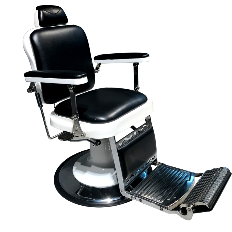 Barber Chairs New European Retro Mens Hairdressing Chair Barber Shop Lift Can Drop Oil Head Salon Hair Chair