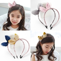 Hair bundle hair hoop female children Korean princess Korean version of the pressure hair cute female treasure pupils wild 2018 New Ocean
