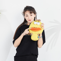 PLUMO piroum original will move cute adorable cute bag girls children Messenger shoulder with the 5th C Duck Duck